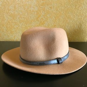 Fedora with Leather Strap